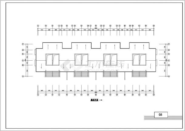 佛山市某现代村镇2层砖混结构住宅楼建筑设计CAD图纸(含阁楼和总图)-图一
