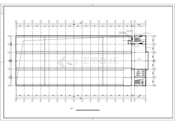 某8297㎡厂房电气施工图纸-图一