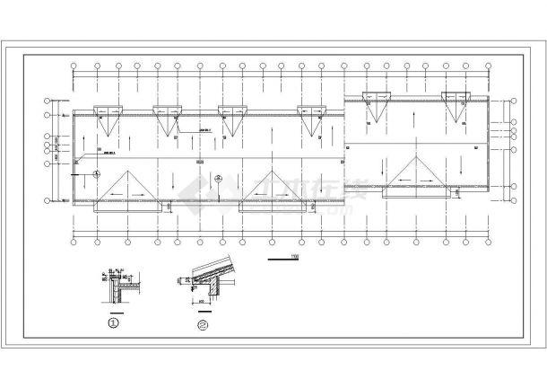 溧阳市可馨花园小区6层砌体结构住宅楼建筑设计CAD图纸(含半地下室)-图一