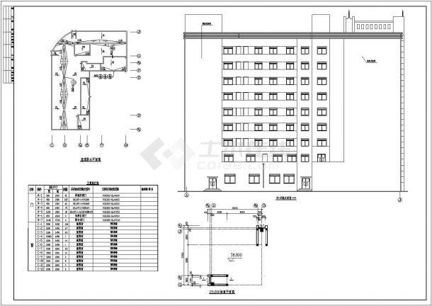 荣苑高层住宅全套建筑设计施工图-图一