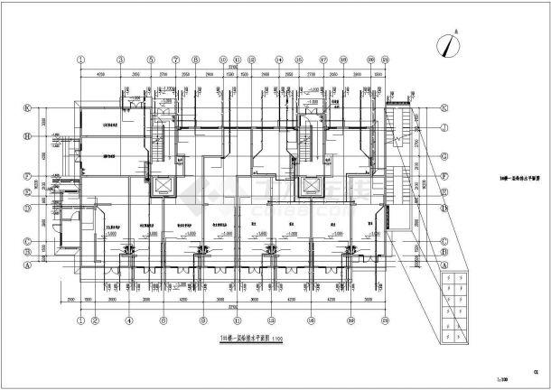 君雅社区第二批安置房建造工程(1# )--给排水设计-图一