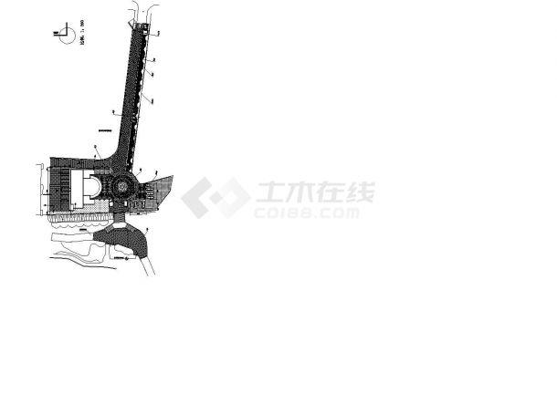 深圳市人民公园景观施工图全套-图二