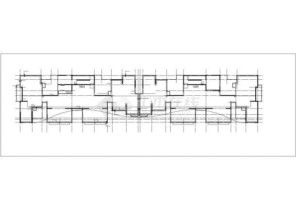 上海市红星湖苑小区27层剪力墙结构公寓住宅楼建筑设计CAD图纸-图一