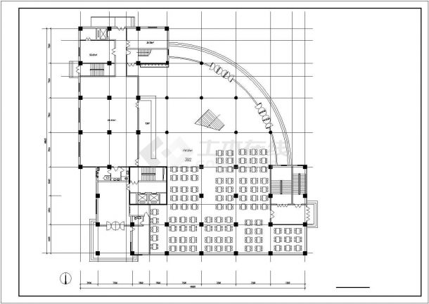 连云港市某居住区1.7万平米11层框架结构住宅楼全套建筑设计CAD图纸-图一