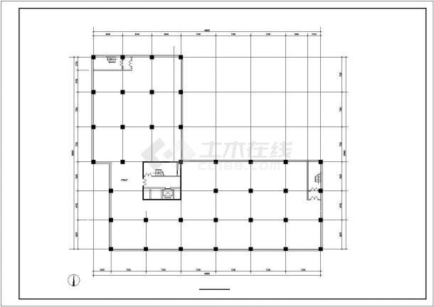 连云港市某居住区1.7万平米11层框架结构住宅楼全套建筑设计CAD图纸-图二