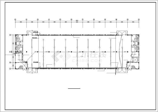 某2层2684㎡工业厂房电气施工设计图-图二