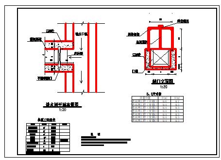某重点县小型农田水利全套cad设计图纸-图二