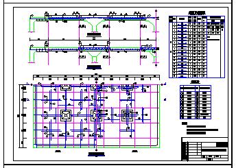 某1000方矩形清水池全套cad设计图纸-图一