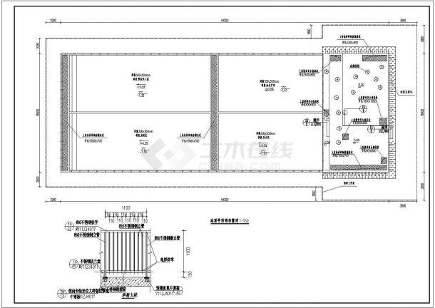 人工湿地建筑设计施工图-图一