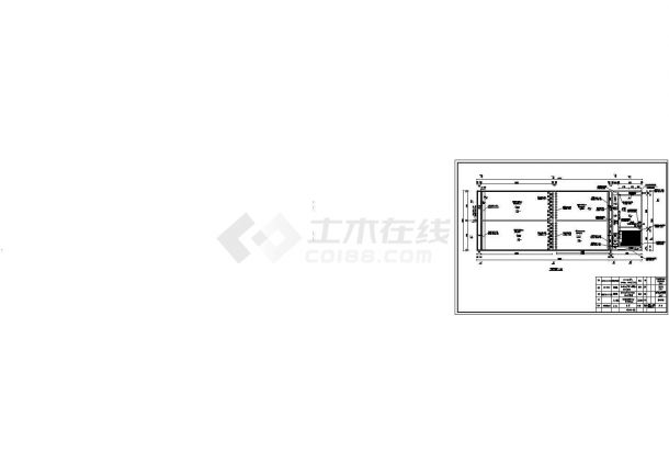 人工湿地建筑设计施工图-图二