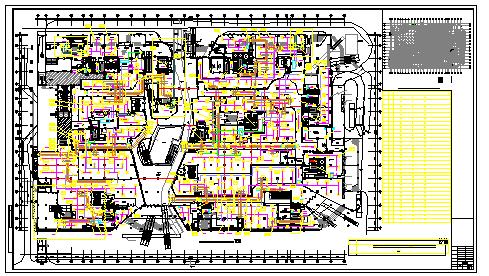 [成都]大型综合性购物中心空调通风设计全套施工图纸(大院设计 知名项目 23万平)-图一