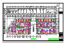 [安徽]商贸城空调通风设计全套施工图纸(含审图意见,负荷计算)-图一