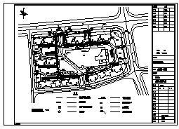 燃气管网设计_某庭院燃气管网工程施工cad图纸-图二