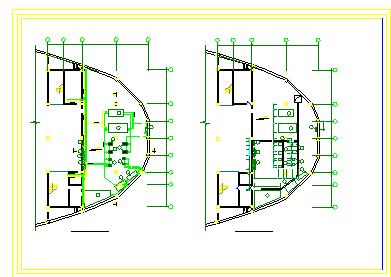 某大型商场暖通空调系统整套cad设计方案图纸-图二