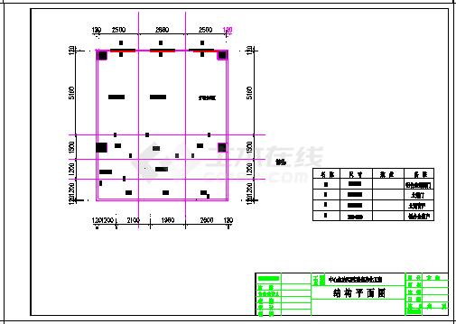 某大学PCR实验室暖通空调施工cad设计图-图二