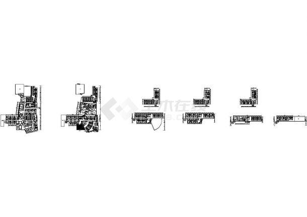 [浙江]著名医院六层就诊综合楼给排水施工图(太阳能,含设计说明,20张)-图一