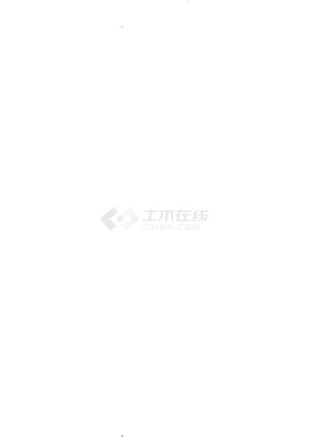 重庆多层宿舍楼给排水消防设计施工图-图一