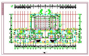 哈尔滨某房地产开发公司开发休息小区住宅楼建筑设计cad施工图-图二