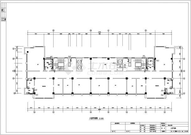某机关高层办公楼给排水设计施工图-图二