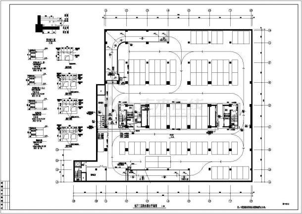 南方某高层办公楼建筑给排水施工图-图二