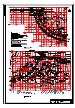 山东某县环岛公园景观设计cad全套施工图纸-图二