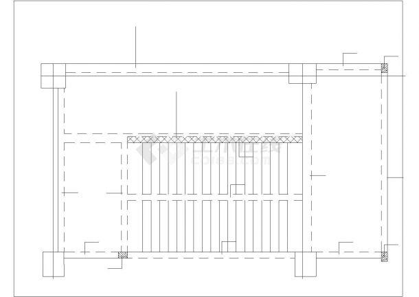 南昌市漳平路某临街4层框架结构商业楼全套结构设计CAD图纸-图二