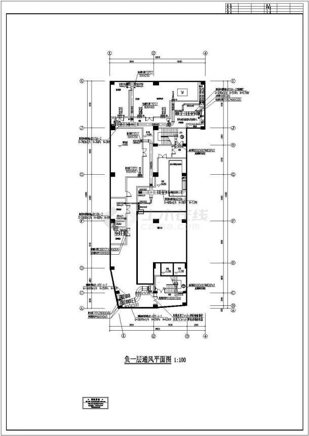 [广东]高层综合楼通风及防排烟系统设计全套施工图(气体灭火系统)-图一