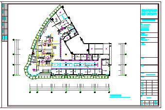 上岛咖啡沙县店室内装饰工程cad设计图纸-图二