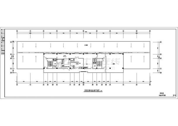 [山东]某国际商业大厦全套空调通风防排烟系统设计施工图(含机房设计)-图二
