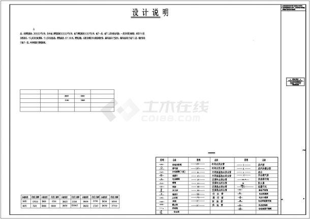 [山东]某商业综合体暖通空调全套系统扩初设计图(动力系统 机房设计)-图二