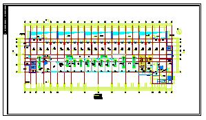 [安徽]医院综合楼空调通风及防排烟系统cad施工图(含节能环保设计)-图二