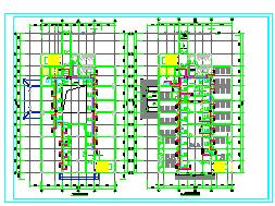 [河南]医院多层综合病房楼空调通风及防排烟系统cad施工图-图一