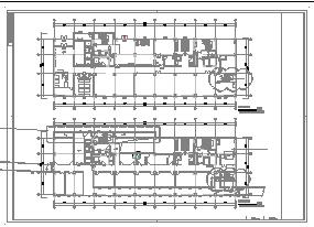 [安徽]高层医院工程病房楼空调通风防排烟系统cad施工图(大院作品新设计)-图二