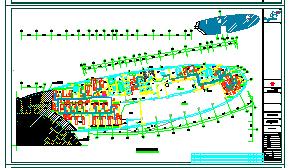 [江苏]高层康复医院迁建工程空调通风防排烟系统cad图纸(机房设计)-图二
