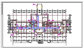 [上海]多层医院系列建筑采暖通风及防排烟系统cad施工图-图二