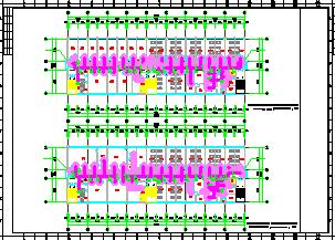 [重庆]医院急诊楼和康复后勤中心空调通风及防排烟系统cad施工图(含节能设计)-图二