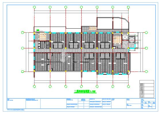 某宾馆室内装饰改造工程cad设计图纸-图一