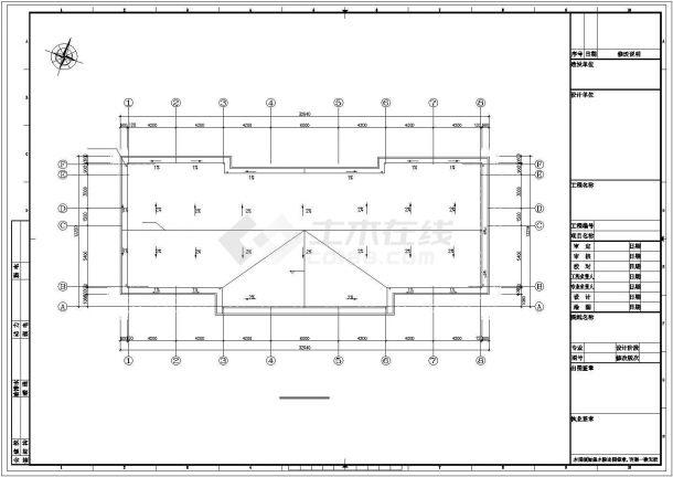 广州市某6万平米污水处理厂建筑给排水及工艺全套设计CAD图纸-图一