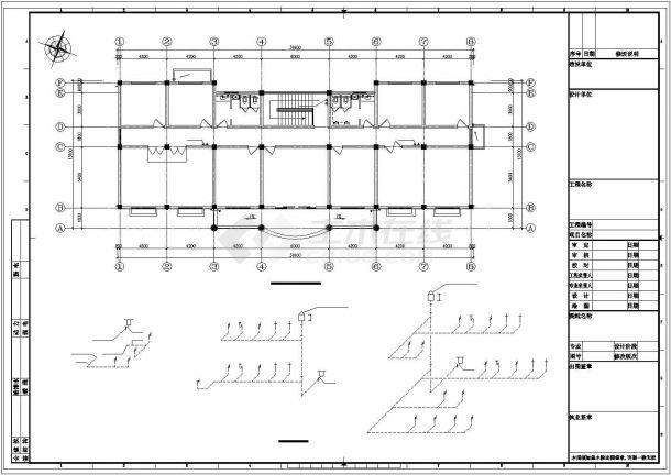 广州市某6万平米污水处理厂建筑给排水及工艺全套设计CAD图纸-图二