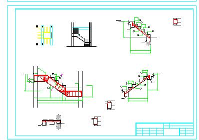 [江苏]两层砖混结构农村自建房结构cad设计图(含建筑图)-图一