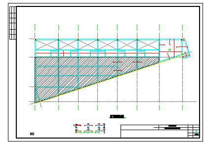 [广东]地上四层框架结构商业楼结构cad设计施工图纸-图一