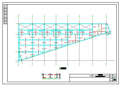 [广东]地上四层框架结构商业楼结构cad设计施工图纸-图二