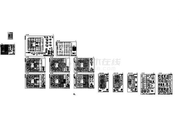 [湖南]地上12层框架结构办公楼结构施工图-图二