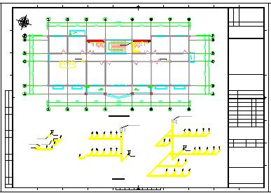 [广东]6万平污水处理厂建筑给排水及工艺全套设计cad图纸(CASS工艺)-图一