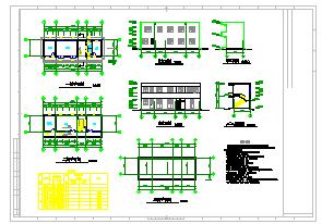 [山东]矿井水回用及污水处理工艺cad设计图-图二