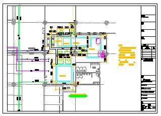 [上海]中水处理站建筑给排水cad施工设计图纸-图二