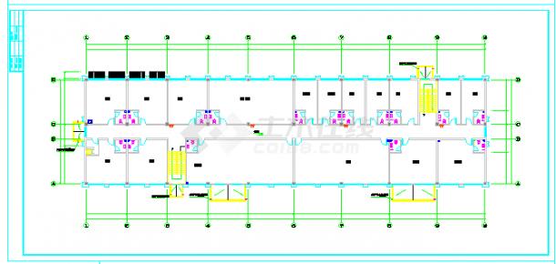 大型综合性建筑给排水cad设计图纸(餐饮 娱乐 宾馆 同层排水)-图二