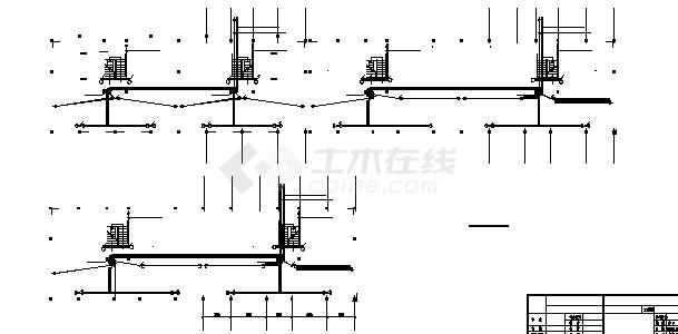 四洲某小区住宅楼弱电系统设计施工cad图纸-图一