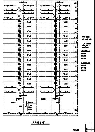 某小区十八层住宅弱电系统设计施工cad图纸-图二