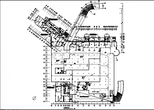 青岛某小区住宅公寓弱电系统设计施工cad图纸-图一
